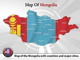 Mangolia Map Powerpoint Template