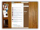 Twitter Backgrounds  - My Desk Twitter Template