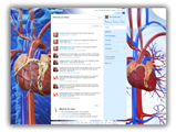 Cardiovascular System Twitter Template