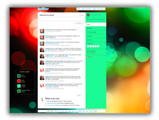 Coloured Abstract Twitter Template