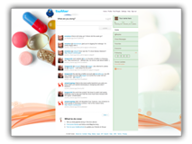Medical Pills Twitter Template