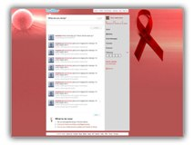 Cancer Logo Twitter Powerpoint Template