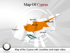 Cyprus PowerPoint map