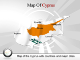 Cyprus Map Powerpoint Template