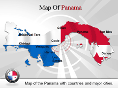 Panama PowerPoint map