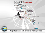 Bahamas Map Powerpoint (PPT) Template