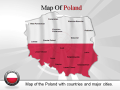 Poland PowerPoint map