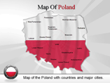 Poland Map Powerpoint (PPT) Template