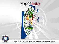 Belize PowerPoint map