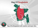 Bangladesh Map Powerpoint Template
