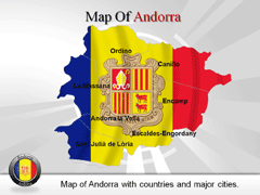 Andorra PowerPoint map