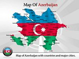 Azerbaijan Map (PPT) Powerpoint Template