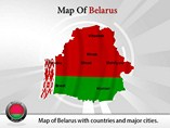 Belarus Map Powerpoint (PPT) Template