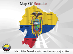 Ecuador PowerPoint map