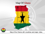 Ghana Map Powerpoint(PPT) Template