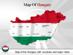 Hungary PowerPoint map