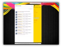 Abstract Twitter (PPT) Powerpoint Template