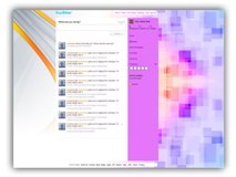 Abstract Twitter Powerpoint (PPT) Template