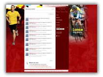 Lance Armstrong Twitter Powerpoint Template