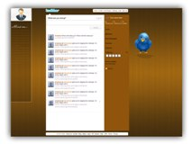 Abstract Twitter  Powerpoint Template