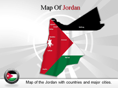 Jordan PowerPoint map