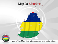 Mauritius PowerPoint map