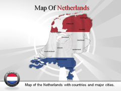Netherlands PowerPoint map