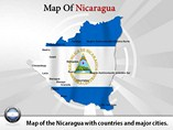 Nicaragua Map (PPT) Powerpoint Template