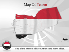 Yemen PowerPoint map