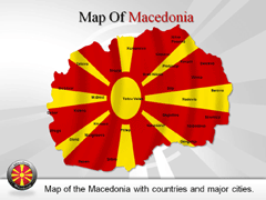 Macedonia PowerPoint map