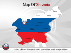 Slovenia PowerPoint map