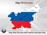 Slovenia Map (PPT) Powerpoint Template