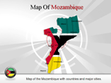 Mozambique Map (PPT) Powerpoint Template