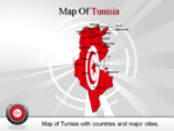 Tunisia Map (PPT) Powerpoint Template