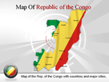 Republic of the Congo Map (PPT) Powerpoint Template
