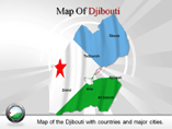 Djibouti Map (PPT) Powerpoint Template