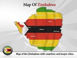Zimbabwe Map (PPT) Powerpoint Template