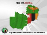 Zambia Map (PPT) Powerpoint Template