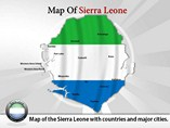 Sierra Leone Map (PPT) Powerpoint Template