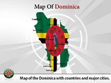 Dominican Map (PPT) Powerpoint Template
