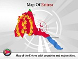 Eritrea Map (PPT) Powerpoint Template