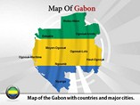 Gabon Map (PPT) Powerpoint Template
