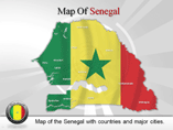 Senegal Map (PPT) Powerpoint Template