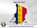 Chad Map (PPT) Powerpoint Template