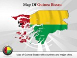 Guinea Bissau Map (PPT) Powerpoint Templates