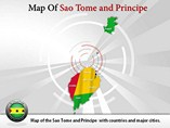 Sao Tome and Principe Map Powerpoint Template