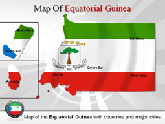 Equatorial Guinea powerpoint map