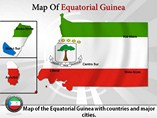 Equatorial Guinea Powerpoint Map Template