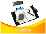 Business Accessories Powerpoint Template