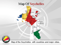 Seychelles powerpoint map